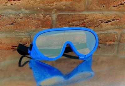 Защитные очки с прямой вентиляцией закрытого типа СибрТех - фото 4791