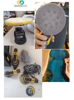 Видео по шлифовке и полировке столешниц с эпоксидной смолой - фото 4867