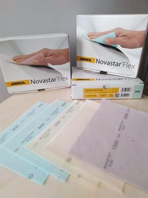 Novastar Flex мягкий ультрагибкий шлифовальный лист - фото 4908