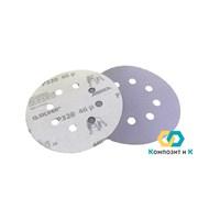 абразивный диск Q.Silveer D150 от Mirka на эластичной и прочной бумажной основе