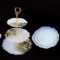 Молд ваза круглая 3 уровня