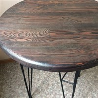 Кофейный круглый столик